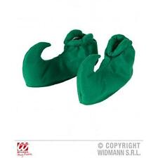 Green Elf Peter Pan Shoe Covers Adult One Size Fancy Dress Costume Accessory