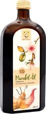 Bio-Mandelöl 500ml, kaltgepresst im Schwarzwald aus spanischen Süßmandeln