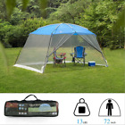 13X9ft Camping Tent Mesh Net Wall Outdoor Gazebo Canopy Sunshade With Carry Bag