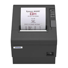 EPSON TM-T88IV CHARCOAL THERMAL PRINTER PARALLEL INTERFACE WITH POWER SUPPLY
