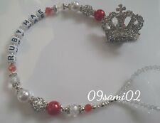❤ Bling Personalizado Maniquí Clip Shamballa y Cristal Diamante Corona Romaní!!! ❤