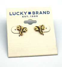 Lucky Brand Elephant Head Stud Earrings
