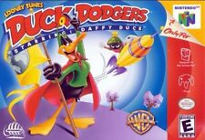 N64 Looney Tunes: Duck Dodgers Starring Daffy Duck Cartridge *Cosmetic Wear*