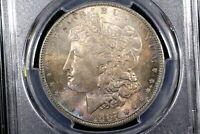 1887 Morgan Dollar, Near Gem Toned Unc, PCGS MS-64