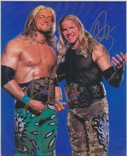 Edge & Christian Signed WWF Tag Team Champions 8x10 Photo WWE