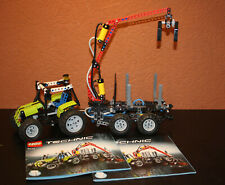 2 muraux//Garde-boue droite + gauche LEGO technic en lime de 8049 61070//61071