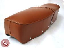 LAMBRETTA Quality Bench Dual Seat Brown S2/S3/GP/SX/LI