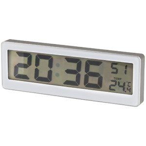 LCD Clock with Thermometer -  XC0230