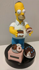 The Simpsons Homer w/ Donuts Alarm Clock 1998 Wesco Clock w/ Snooze Works Great!