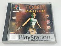 Mint Disc Ps1 Playstation 1 TOMB RAIDER Featuring Lara Croft Free Postage