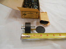 10 Vintage NOS Hubbell 9758 Rubber Cord Grip Caps Plugs 20A 250V