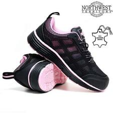 LADIES WOMENS ULTRA LIGHTWEIGHT STEEL TOE CAP WORK SAFETY SHOES TRAINERS BOOTS