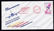 Flugpost-Frankreich-A320 Airbus Industrie-