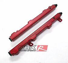 OBX Red Fuel Rail Fits 2003-2009 Nissan 350Z & Infiniti G35 VQ35DE