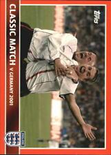 2005 Topps England #87 Match vs Germany 2001