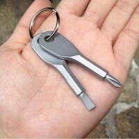 Schlüsselanhänger Schraubendreher Schraubenzieher Kreuz Schlitz Werkzeug Schraub