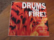 Drums on Fire - Art Blakey, Chico Hamilton - VG/VG+