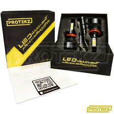 LED Headlight Kit H11 H8 H9 2 Bulbs CREE COB with Fan 800W 120000LM 6500K