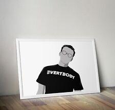 Logic, Rapper, Rap, print, poster, prints, posters, wall art, gift, gifts