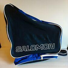 Salomon Ski Boot Bag Neon Retro Blue very good - hip 80s 90s