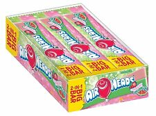 Airheads 2-in-1 Big Bar - Strawberry & Watermelon - 1.5 oz - 24 ct  (3 PACK)
