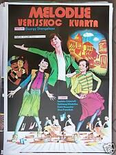 VERIS UBNIS MELODIEBI-S.CHIAURELI-YUGO MOVIE POSTER '73