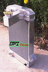 62MM ALUMINUM ALLOY RADIATOR FOR TRIUMPH TR2/TR3/TR3A/TR3B MT 1953-1957 54 55
