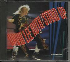 Van Halen DAVID LEE ROTH Stand Up RARE FADE PROMO Radio DJ Cd single 1988 USA