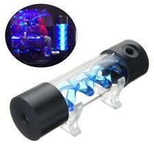Cylinder T-Virus Reservoir Helix Suspension Water Cooling Tank LED Light 200mm
