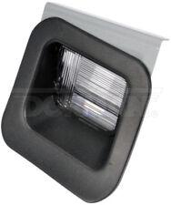 09-10 DODGE RAM 1500 2500 3500  LICENSE TAG LIGHT LENS RH PASSENGER SIDE 68143
