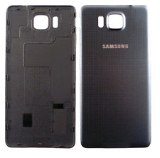 Coque Arriere / Cache Batterie Samsung Galaxy Alpha ( G 850 ) Noir