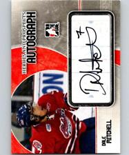 (HCW) 2007-08 ITG Heroes and Prospects Autographs #ADM Dale Mitchell Auto 04662