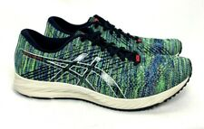 ASICS GEL-DS TRAINER 24 Womens SIZE 9 Green Blue Gray Mix Running Shoes Sneakers