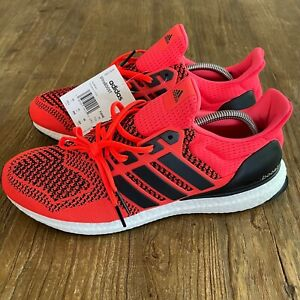 New Adidas Ultraboost 1.0 Solar Orange Shoes Men's 11.5 (2019) - FU6648 Runners
