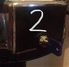 More details for 2 x sweet vending locks tower machine pringles cash box