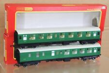 HORNBY R622 R623 RAKE of 2 SOUTHERN SR COMPOSITE & BRAKE 3rd COACH BOXED nt