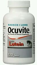 Ocuvite W/Lutein Antioxidants & Zinc Vitamin&Mineral Supplement, 120ct