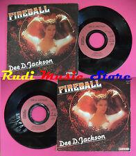 LP 45 7'' DEE D. JACKSON Fireball Falling into space 1979 france no cd mc dvd