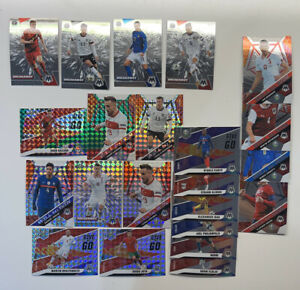 2021 Mosaic UEFA Euro 2020 Soccer Insert Lot Of (22) Rookie RC