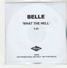 (FQ66) Belle, What The Hell - 2006 DJ CD