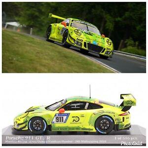 Porsche 911 GT3 R #911 24H Nurburgring 2018 manthey grello Minichamps 1:43