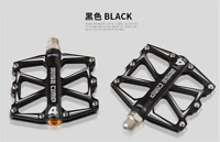 1pair BaseCamp MTB Bike Pedal Slip-resistant Ultra-light 4 Bearing Cycling Pedal
