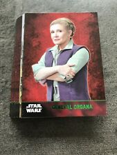 Topps Star Wars The Force Awakens Série 1 Green  Parallel 23 Cards Lot