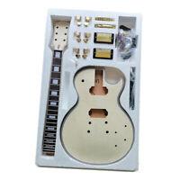 Premium DIY LP Style Electric Guitar Kit - Unfinished Project Guitar Kit