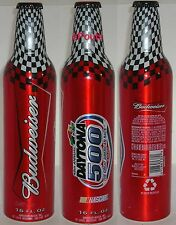 NASCAR BUDWEISER 2007 DAYTONA FLORIDA ALUMINUM BEER BOTTLE-CAN RACE CAR SPORTS
