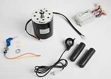 800W 36V electric motor kit w control box, key lock & Thumb Throttle