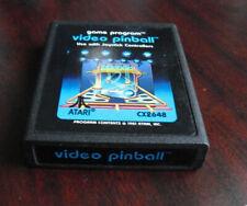 Vintage 1981 Atari 2600 Video Pinball Video Game Cartridge