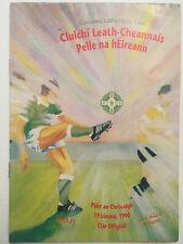 1990 GAA All-Ireland Football S-Final MEATH v DONEGAL Programme