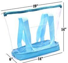 Bolso transparente del bolso de las mujeres de la bolsa de plástico transparente