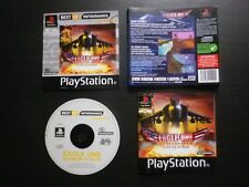 JEU Sony PLAYSTATION PS1 PS2 : EAGLE ONE Harrier Attack (avions COMPLET suivi)